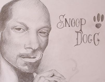 """Check out new work on my @Behance portfolio: """"Snoop Dogg Sketch"""" http://on.be.net/1gXfiCr"""