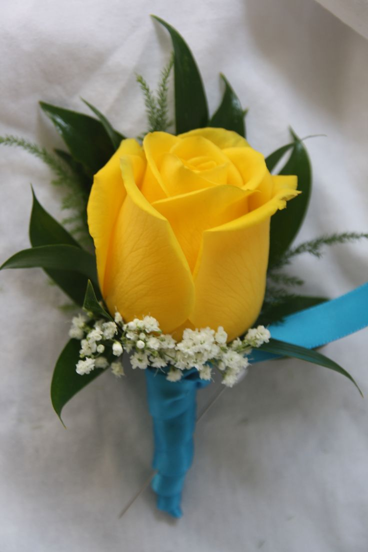 Yellow Rose Boutonniere Flowers By Me Yellow Rose