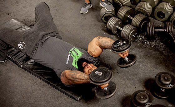 CT Fletcher knows a thing or fifty abouwt building monstrous biceps and triceps. Think you can hang? Get ready to command your muscles to grow!