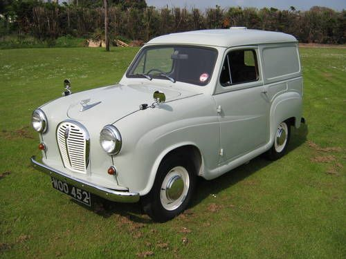 1962 austin a35 van maintenance of old vehicles the. Black Bedroom Furniture Sets. Home Design Ideas
