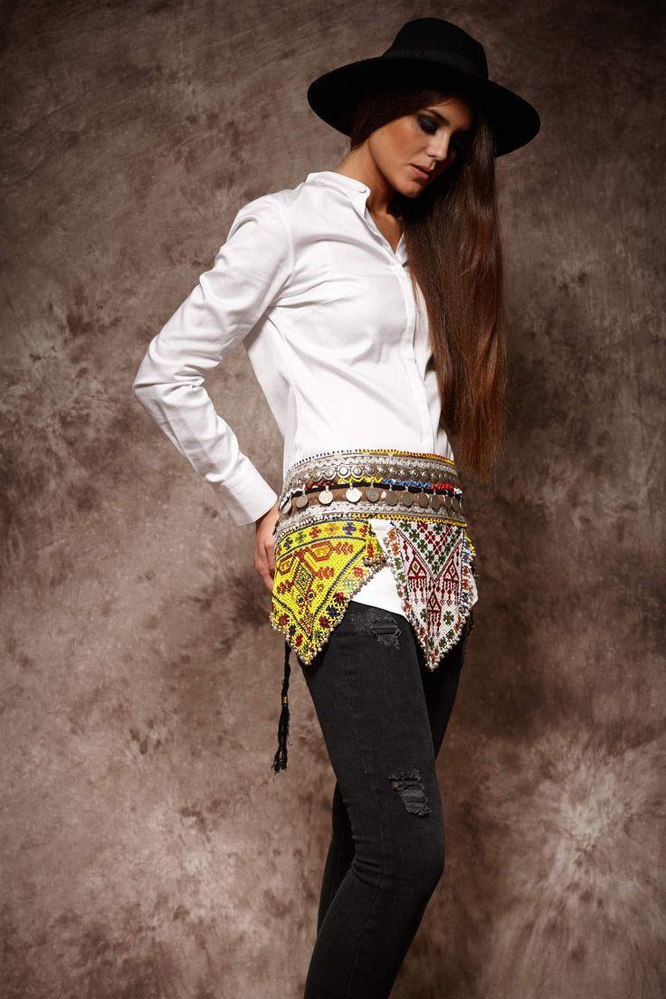 Cinturon etnico vintage