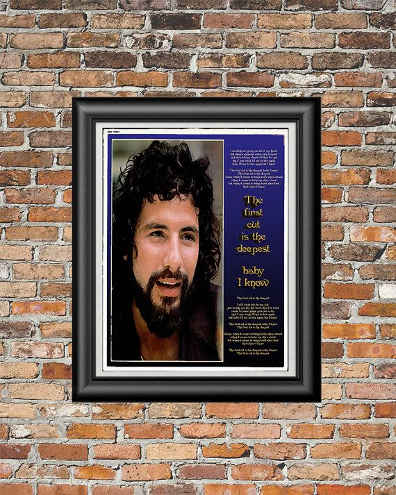 The First Cut is the Deepest by Cat Stevens by PrintableSongParts