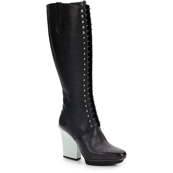 1000  ide tentang Leather Knee High Boots di Pinterest | Bot seksi