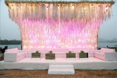 White & Pastel Decor - Showcraft Weddings