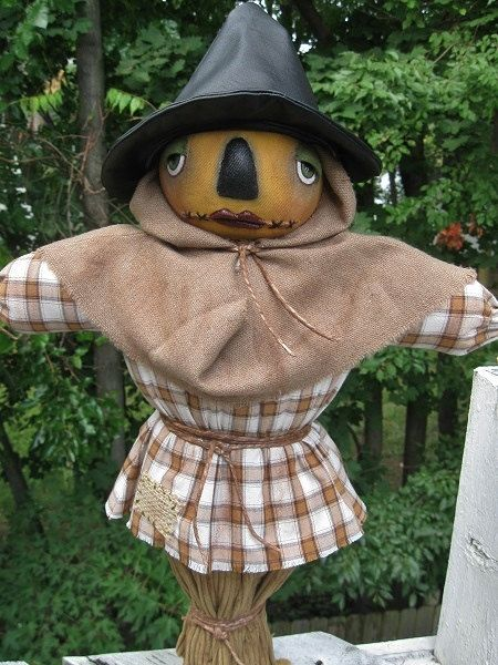 SCARECROW  DOLL. Halloween Scarecrow Doll. by thestitchfiddler, $100.00