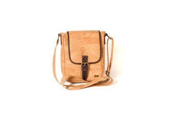 Man Cork bag - MALANGE Natural