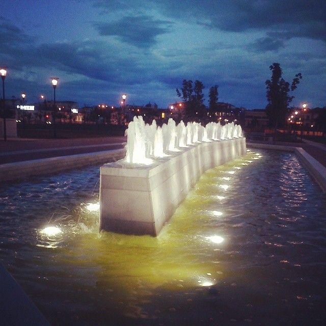 """#Larissa #Λάρισα #νέο #πάρκο #σιντριβάνι #τέλεια  """