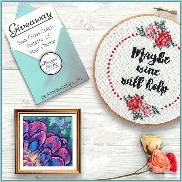Two Free Cross Stitch Patterns