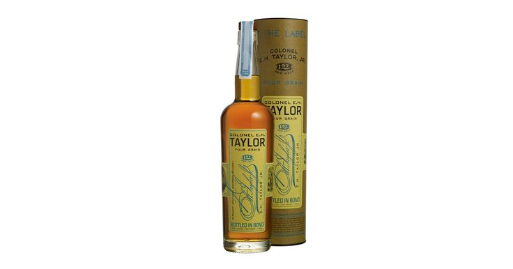 E.H. Taylor, Jr. Four Grain bourbon is a special recipe for one particular reason: It contains both rye and wheat.
