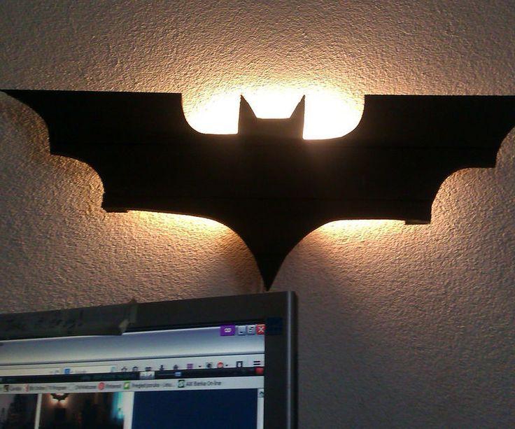 Okay, I'm gonna show you how i managed to build a cool Batman lamp from nothing more then thin wall panels and old light bulb throat. Let's go!