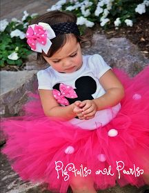 The Sweet Peach Paperie: Minnie Mouse Birthday Parties