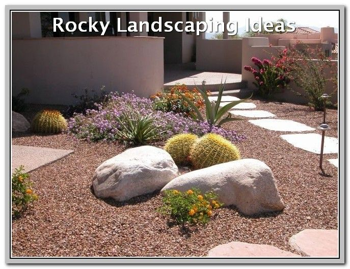 How To Make The Most Out Of Your Landscape Landscaping Xeriscape Front Yard Design Rock Garden