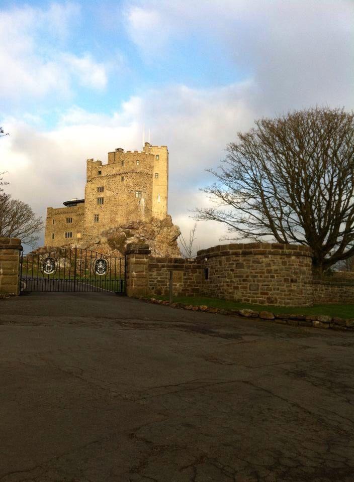 Roch Castle, Pembrokeshire. Photo by Jacqui Watson.