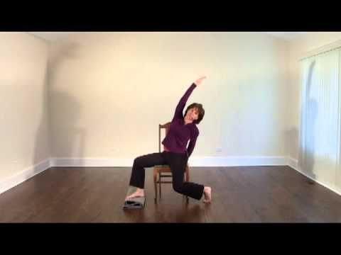 Chair Yoga Sequence | This yoga can be practiced by those with mobility problems and have problems with working on the floor. Many older students with little athletic experience find getting down on the floor too challenging. This allows practitioners to perform some modified yoga movements while sitting in a chair.