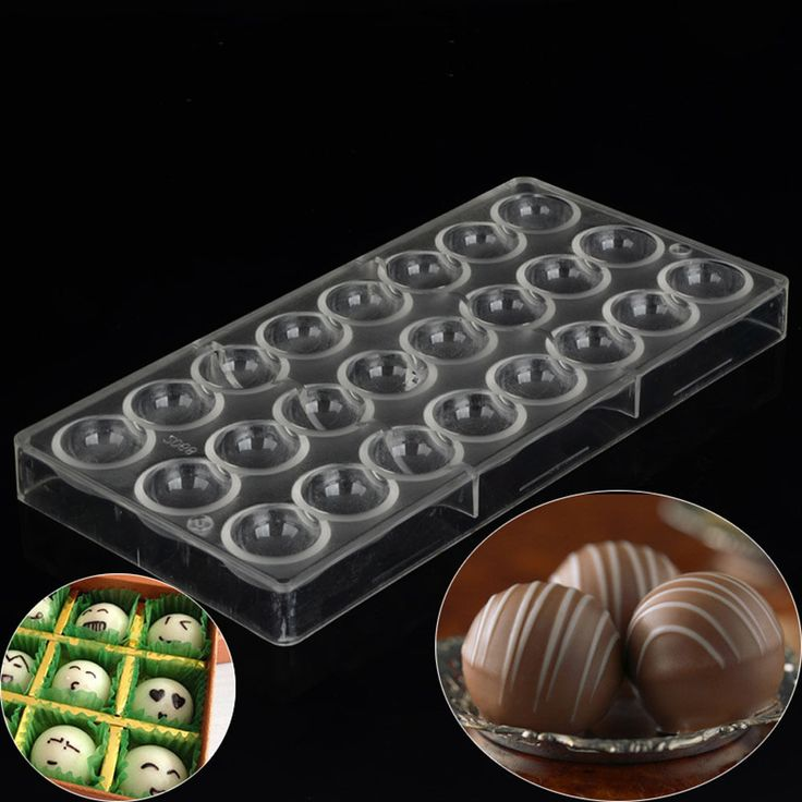 Pastry Tools Semi Sphere Polycarbonate Chocolate Mold Clear Mold Diy Handmade