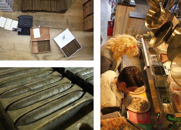 Kijkje in sigarenfabriek + thee proeven @EenhoornKampen en oa heerlijke Flammkuchen van Eetkamer De Tijd! #teamuitje   Brainstorm (@mediaBrainstorm) | Twitter