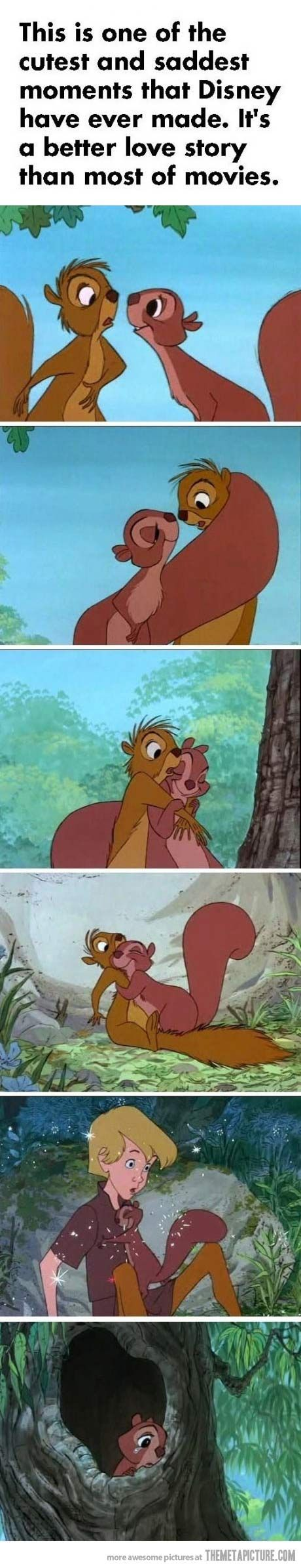 The cutest and saddest moment in Disney's history…It makes me so sad every time!