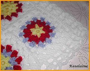 Couverture au crochet #3