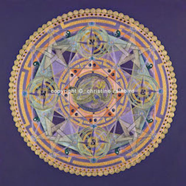 Rainbow Serpent: honors the 5 directions Earth, Fire, Air, Water, and Ether. The Rainbow Serpent holds the frequencies of the Kundalini Ley lines of the Earth. This is powerful transformational energy specifically focused on connection with the Earth. For 'Earth Energy Workers' this Mandala will activate, align and support your energetic service work.