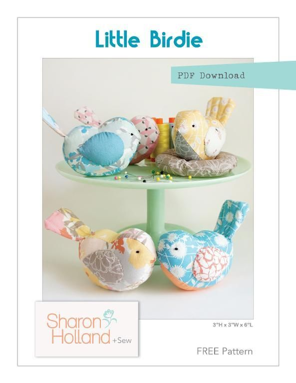 Free Sewing Pattern: Little Birdie