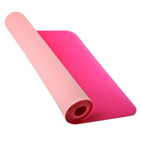 Deze lichtgewichte yogamat van Nike is oprolbaar en hierdoor makkelijk mee te nemen. Ideaal voor yoga, maar ook voor bijvoorbeeld grondoefeningen tijdens pilates of aerobics of de buikspierensessie thuis! #yoga