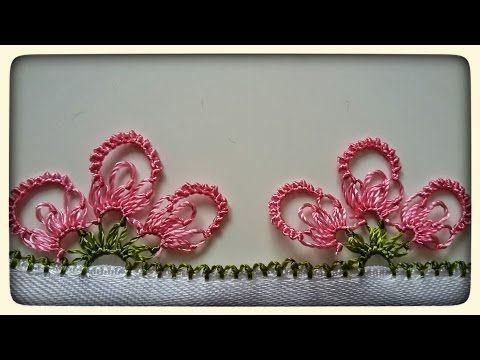 Kardelen İğne Oyası modeli❄/ / crochet, knitting, dıy, handmade, craft, patterns, - YouTube