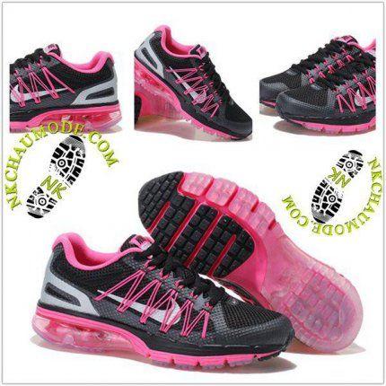 Mode   Nike Chaussure Sport Air Max 2020 Femme Noir/Rose