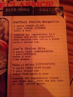 Joes Crab Shack Perfect Patron Margarita: