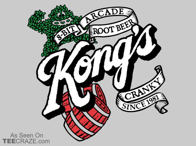Kongs root beer t shirt