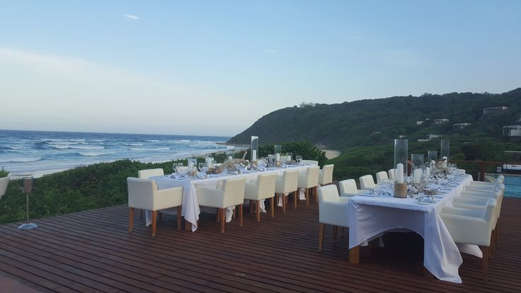 Wedding reception on the White Pearl main deck