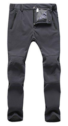 Geval Women's Windproof Waterproof Softshell Fleece Ski Pants - http://darrenblogs.com/2016/02/geval-womens-windproof-waterproof-softshell-fleece-ski-pants/