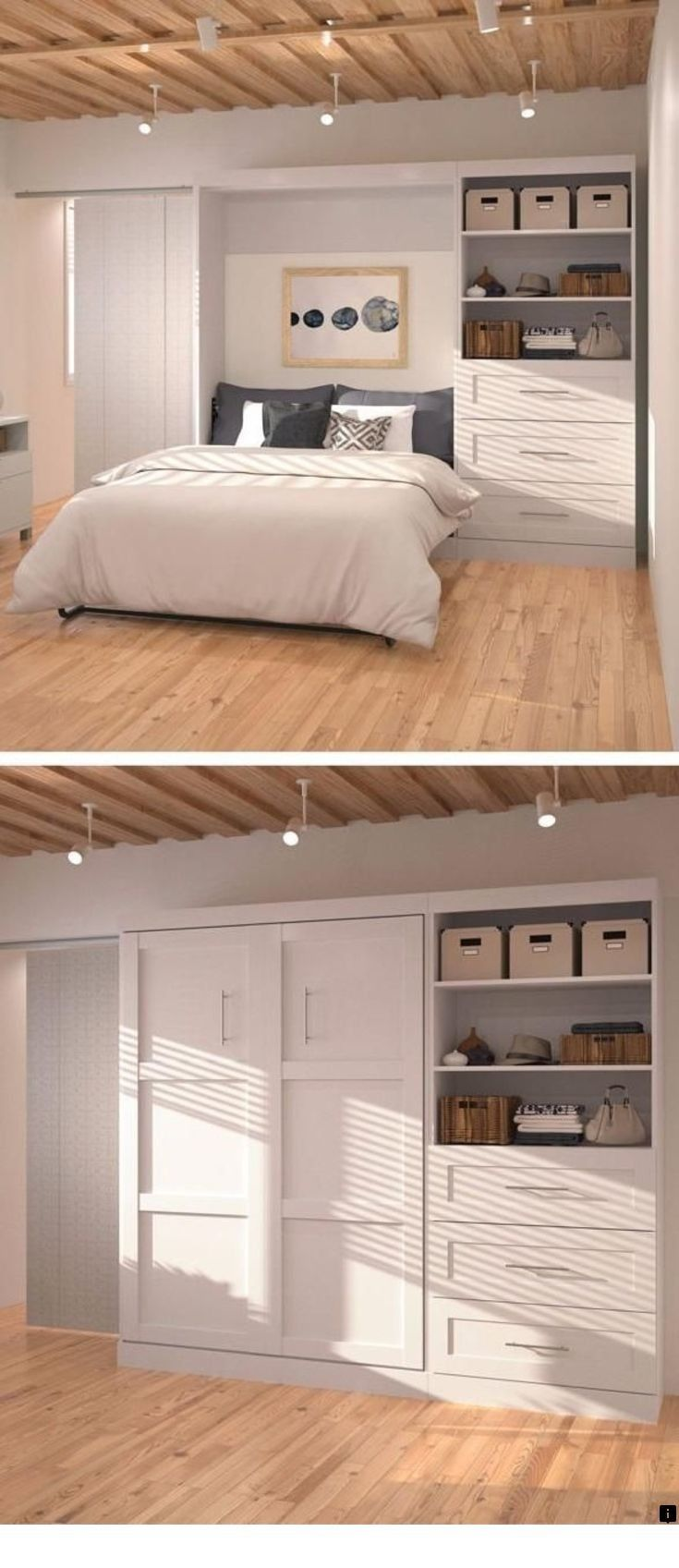 >>Go to the webpage to read more on wall folding bed