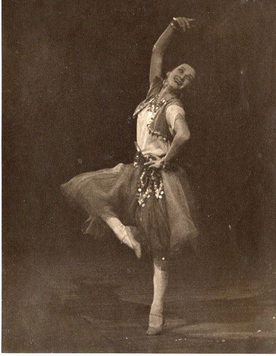 Tatiana Vecheslova in 'Esmeralda'