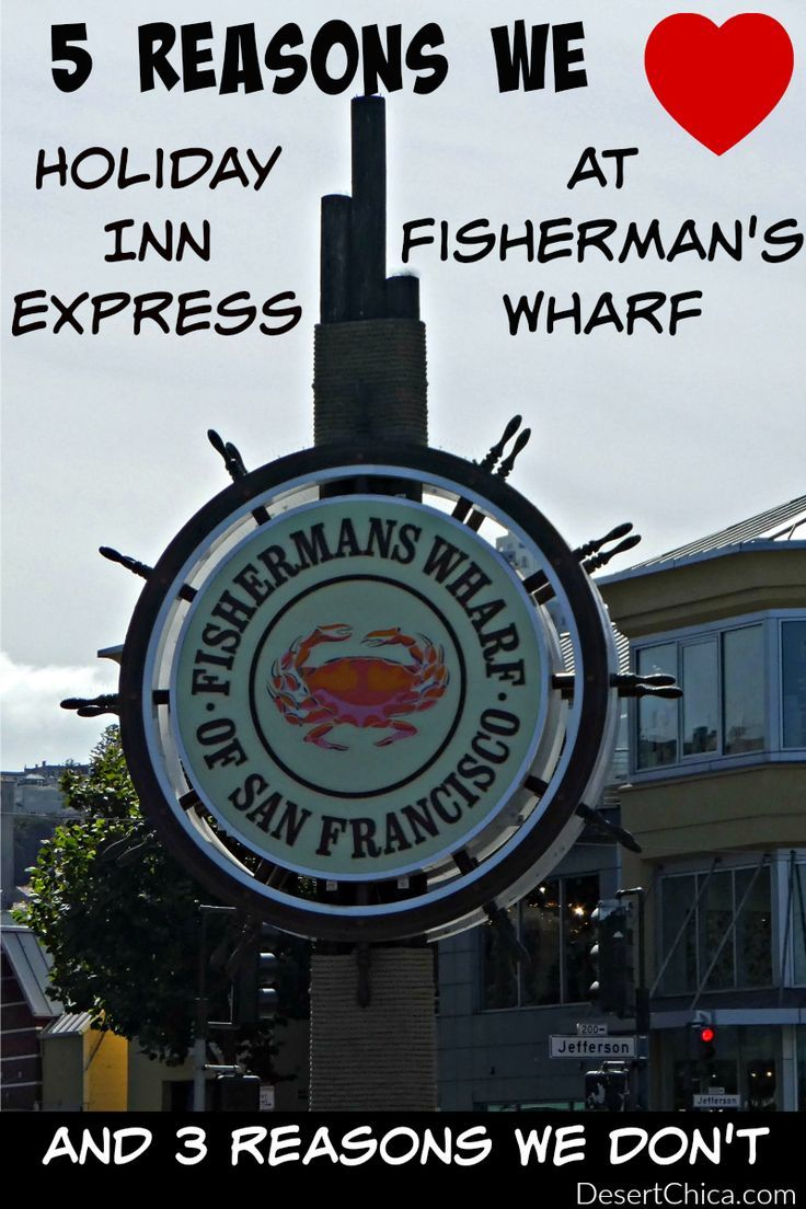 Headed to San Francisco? Check out 5 reasons we loved the Holiday Inn Express Fisherman's Wharf and 3 reasons we didn't.