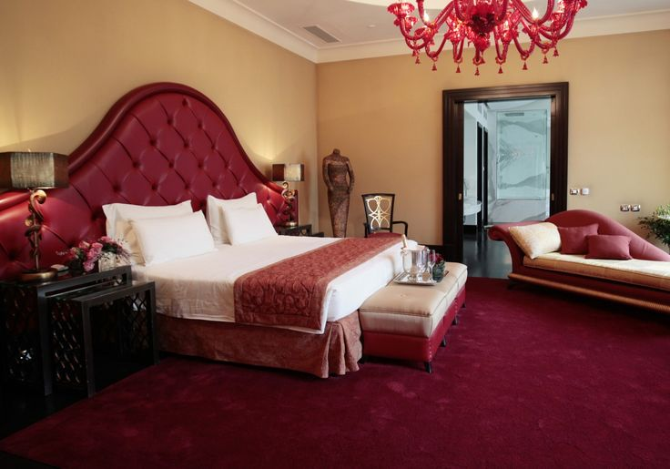 Boscolo Budapest - the red Presidential Suite