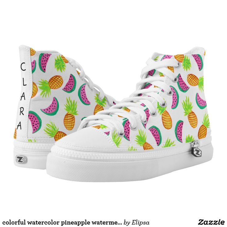 Banana Apple Pineapple Cherry Watermelon Women¡s Casual Shoes Sneakers Boat Cool New Original