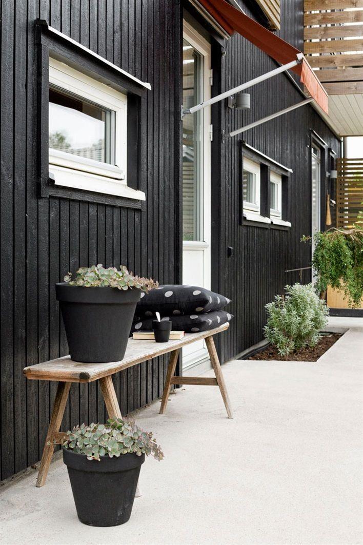 30 idées déco pour une terrasse scandinave en noir et blanc   Decocrush