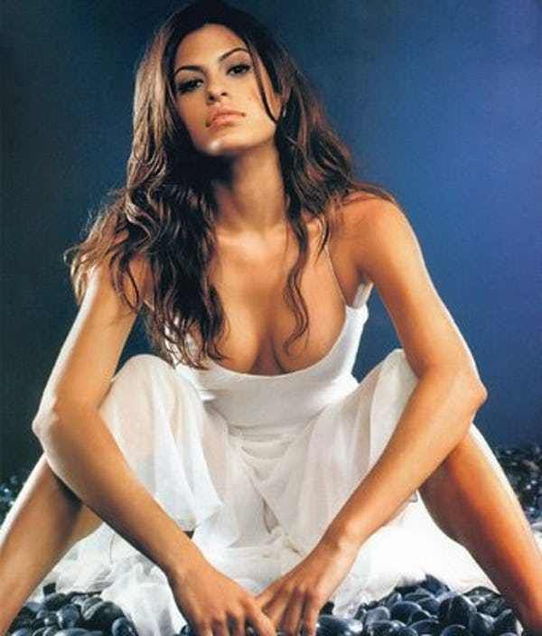Eva Mendes Needs to Talk to Yo... is listed (or ranked) 1 on the list The 41 Hottest Eva Mendes Photos
