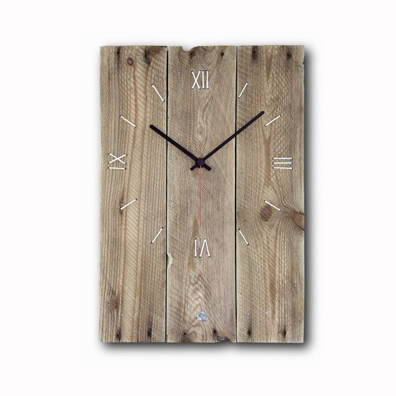 Best 25 wood clocks ideas on pinterest pallet clock scandinavian wall clo - Pendule decorative murale ...