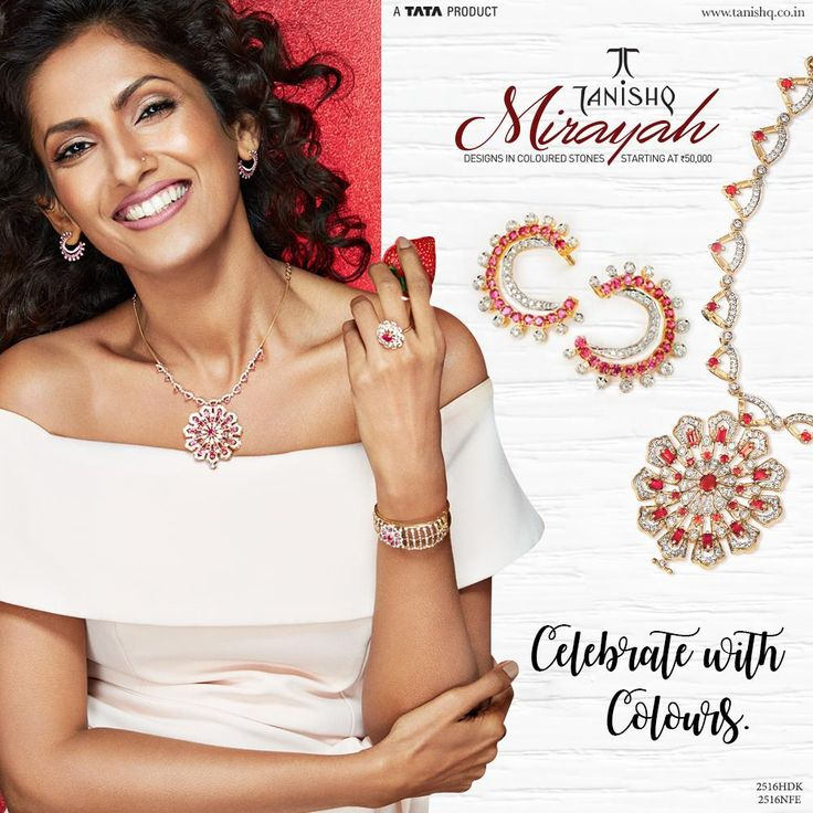 #MirayahByTanishq embodies the magic and elegance of a woman who feels free to celebrate colours in her life!