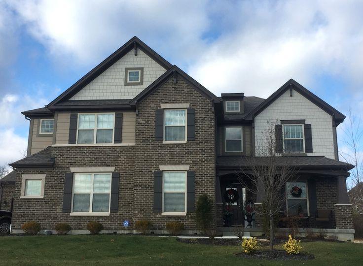 69 best mi homes exterior colors images on pinterest for Cobblestone shutters