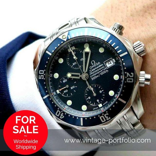 omega seamaster professional 300 automatic chronograph. Black Bedroom Furniture Sets. Home Design Ideas