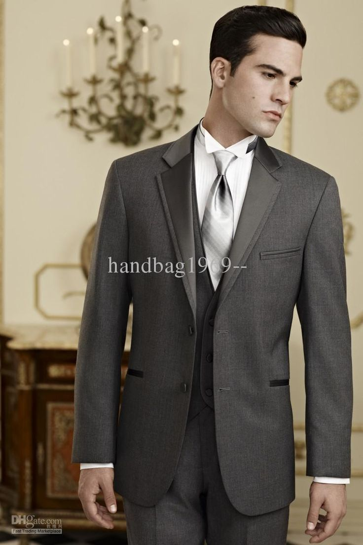 Classic Men's Wedding Dress Bridegroom Suit Prom Party Clothing Best man Suits Groom Tuxedos A:410