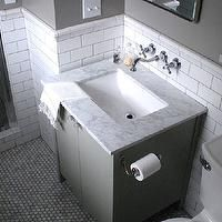 Best Home Gray Bathroom Images On Pinterest Gray Bathrooms