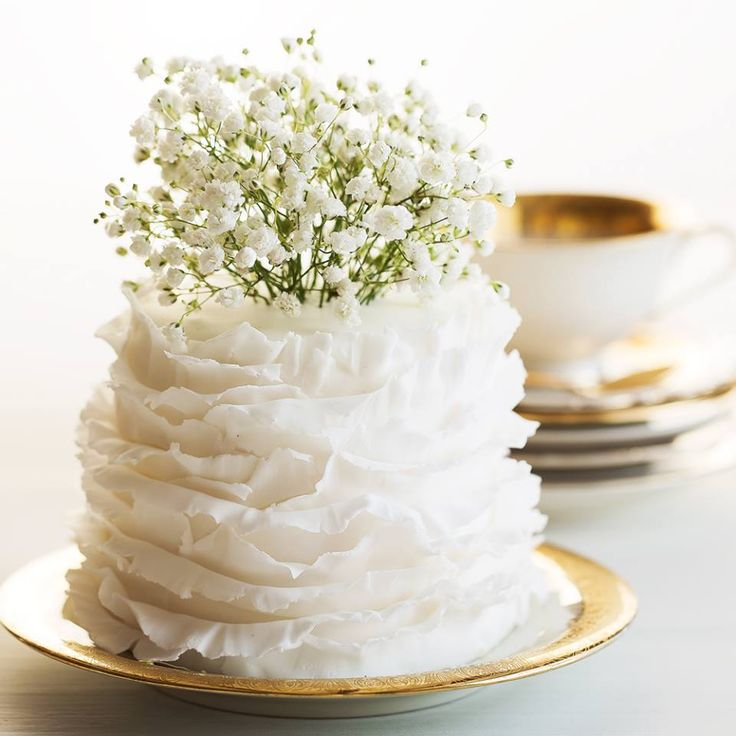 Simple Wedding Cupcake Ideas: Small Wedding Cakes, Elegant