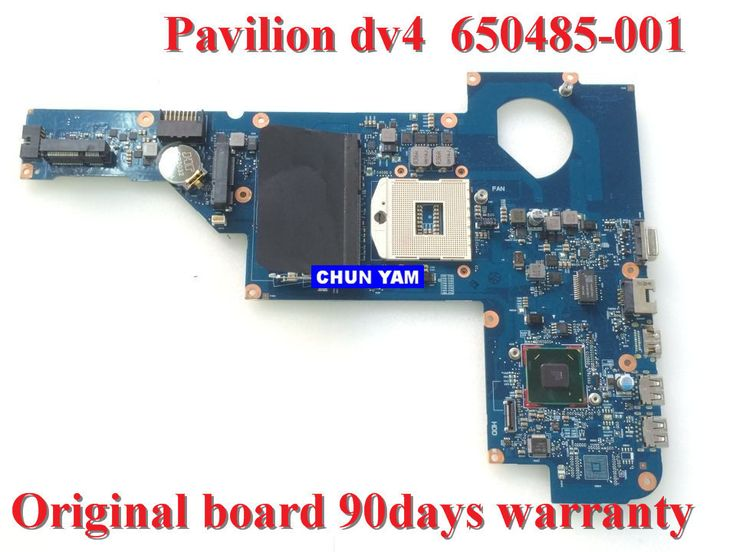 650485-001 for HP Pavilion DV4 DV4-4000 series Laptop Motherboard 650485-001 mainboard 100% Tested 90 Days Warranty