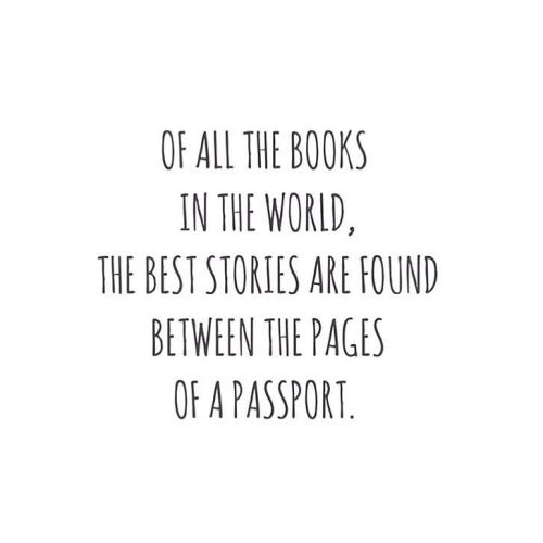 So true #travelquote#backpacking#travel#passport by... More news about worldwide cities on Cityoki! http://www.cityoki.com/en/ Plus de news sur les grandes villes mondiales sur Cityoki : http://www.cityoki.com/fr/