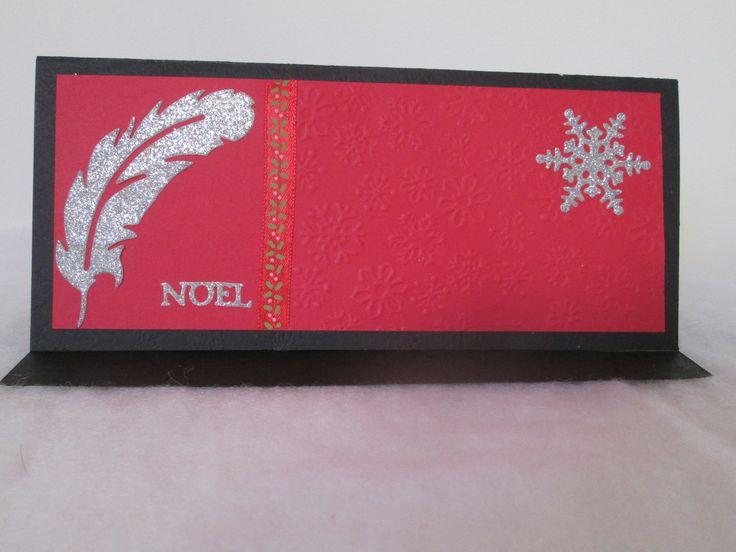 POCHETTE CADEAU Noël BILLET CHEQUE ou place de concert à offrir : Emballages cadeaux par les-petits-papiers-de-marie