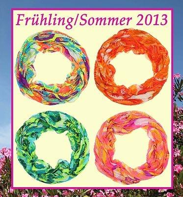 Rundschal, Loopschal, Schlauchschal Frühling/Sommer 2013 Neon € 10,90