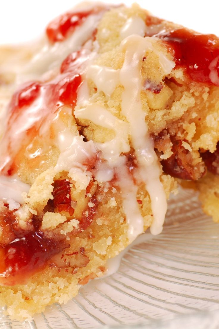 Strawberry Coffee Cake with Pecan Topping Recipe http ...